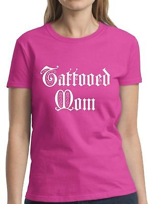 Tattoos For Mom (Tattooed Mom Shirt Tattoo Shirts for Women Tattoo Gifts for Mom Cool Mom)