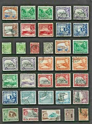 CYPRUS Stamp COLLECTION George V to QEII MINT USED Ref:QV816a