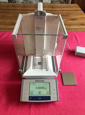 Mettler Toledo Xs105 Analytical Balance Scale 41.00000g 120.0000g