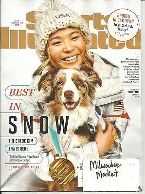 Sports Illustrated February 26 2018 Chloe Kim Best In Snow Best Price L@@K