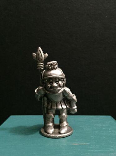 VTG Hudson Pewter Metal Knight Guard Little World Kingdom Miniature Art Figurine