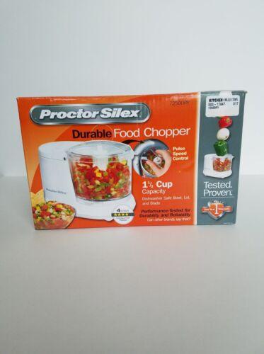 Proctor Silex Food Chopper White 72500R