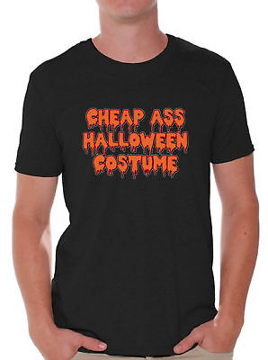 Halloween SHIRT Cheap Ass Halloween Costume Spooky Ghost T-Shirt