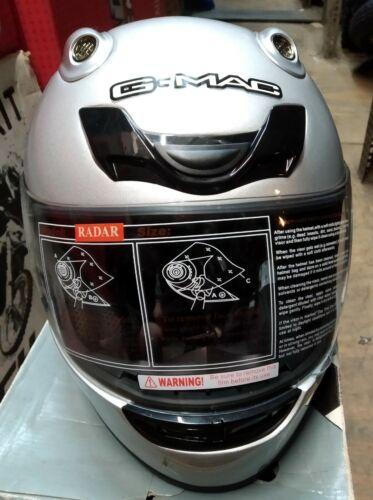 GMAC+Radar+Motorcycle+Helmet+Silver+small