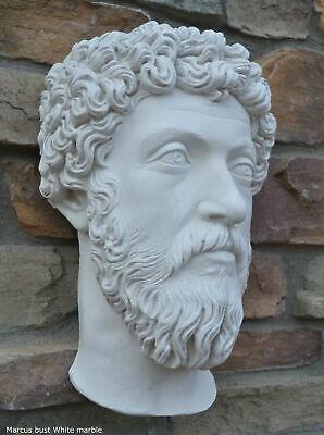Marcus Aurelius Antoninus Augustus Bust Wall plaque relief Sculpture 16