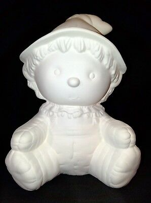 Kimple 920 - Autumn/Fall/Halloween Scarecrow - Ready to Paint Ceramic Bisque
