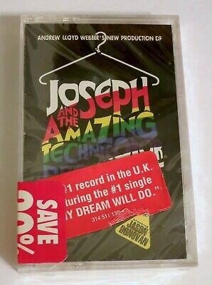 NEW Audio Cassette JOSEPH AND THE AMAZING TECHNICOLOR DREAMCOAT Jason Donovan (Jason Donovan Joseph And The Amazing Technicolor Dreamcoat)