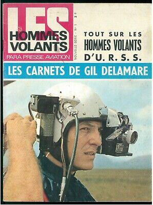 LES HOMMES VOLANTS PARA PRESSE AVIATION FRANCAIS N. 1 1964 NOUVELLE SERIE