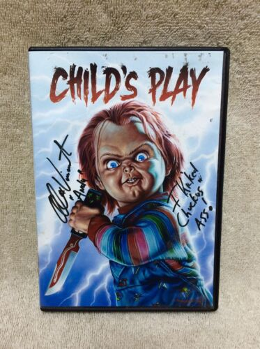 Autographed Childs Play DVD