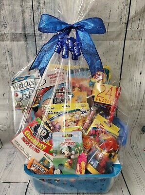 Mickey Easter Basket (Mickey Mouse Boys Gift Basket for Birthdays, Easter, or Other)