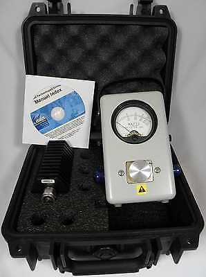 Bird Model 43 Thruline RF Wattmeter Kit Bird 50W Load & Pelican Case (New OEM)