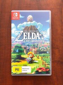 Nintendo Switch. Zelda Links Awakening. AS NEW Condition $49 or Swap