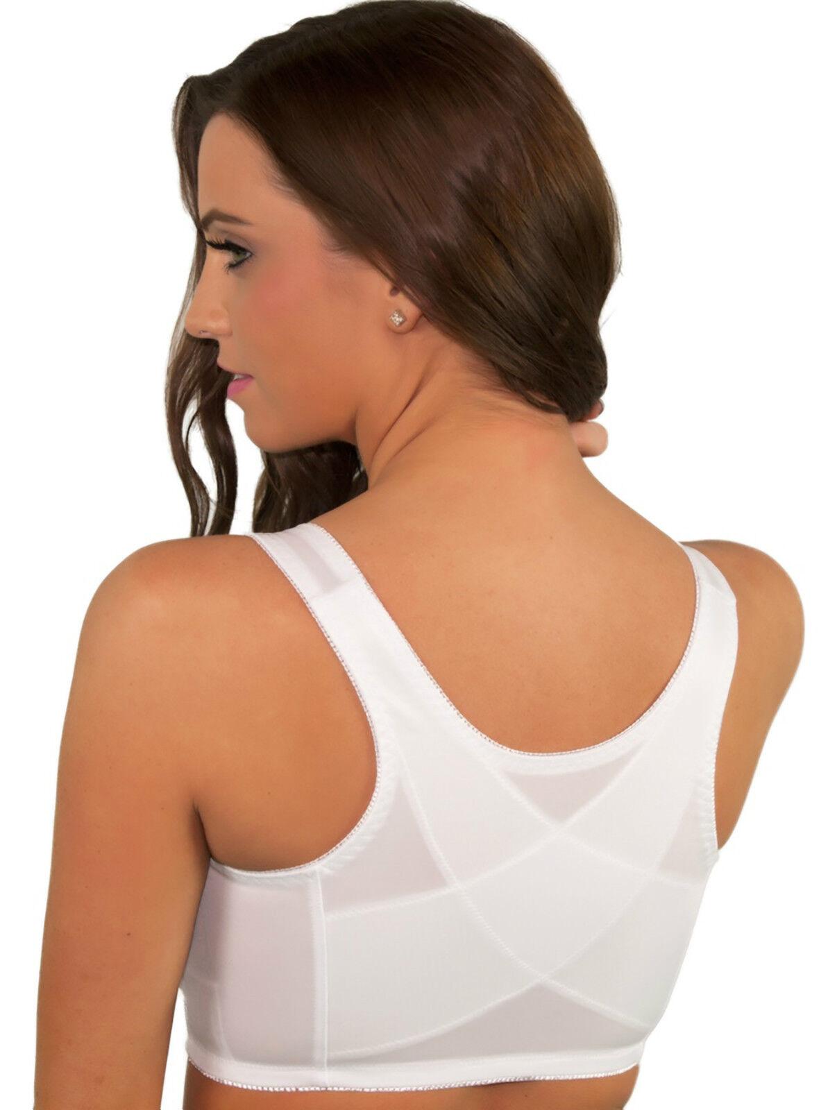 25ddb0b89 Αγορά Γυναικεία ρούχα Front Closure Bra Back Support Posture White Lace 36  38 40 42 44 46 B C D 96226 (1193x1600) ...