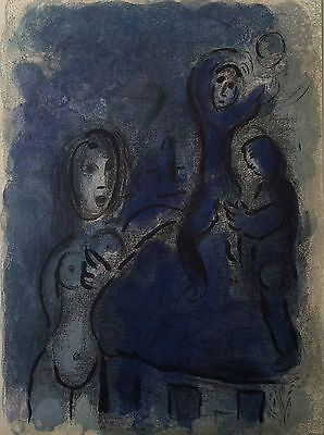 Marc Chagall - Rahab & the spies of Jericho (M.244) - Two Original Lithographs!
