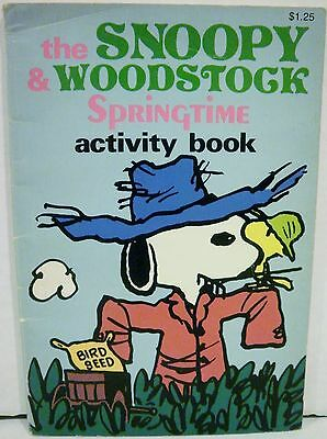 Springtime Activity - The Snoopy and Woodstock Springtime Activity Book Peanuts