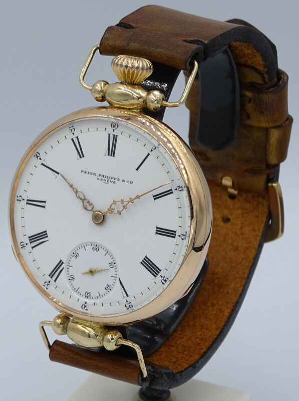 V.RARE SOLID 18K GOLD PATEK PHILIPPE & Cie GENEVE RODANET CHRONOMETER MOVEMENT - watch picture 1