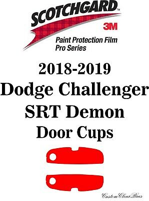 3M Scotchgard Paint Protection Pro Series 2018 2019 Dodge Challenger Srt Demon