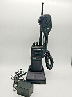 1-motorola Mts 2000 Flashpoint Radio Charger Antenna Battery Mic