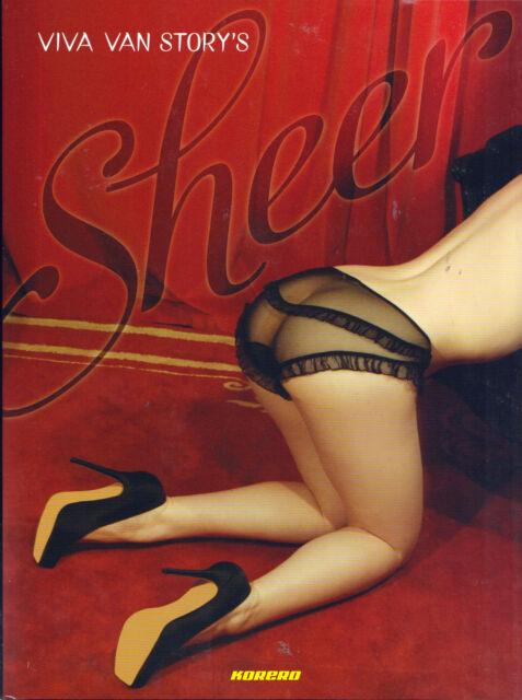 Viva Van Story's Sheer by Viva Van Story (Hardback, 2012, erotic photography)
