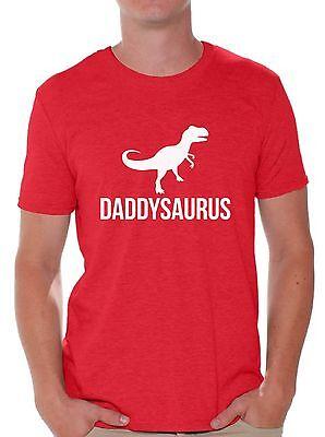 Daddysaurus T Shirt Tops Father S Day Gift Dinosaur Rex Daddy Saur