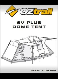 Tent Oztrail 6 person
