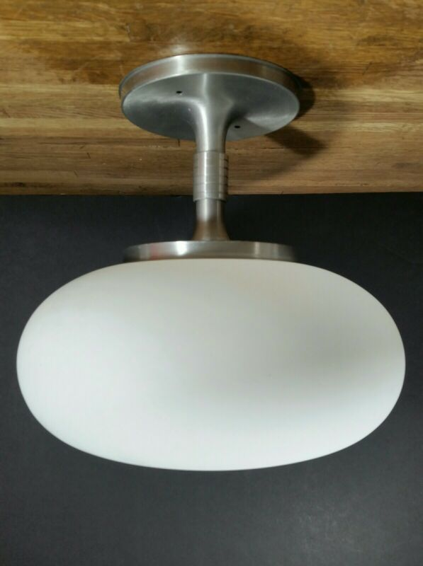 Mid Century Progress Lighting Laurel Mushroom Style Ceiling Light Fixture