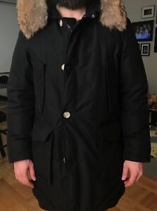 Woolrich Down Arctic Parka with Fur ruff