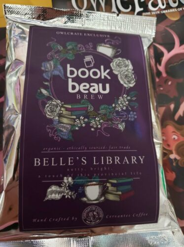 Beauty and the Beast inspired Bookish Coffee by Book Beau brew. Came in Owlcrate