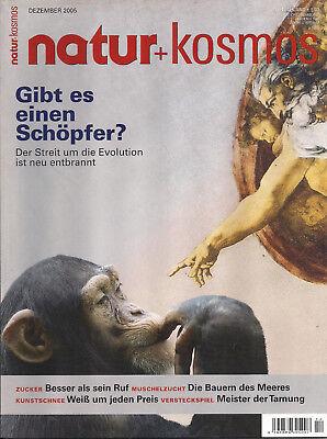 Natur + Kosmos Heft 12 2005 Gibt es einen Schöpfer Der Streit um die Evolution