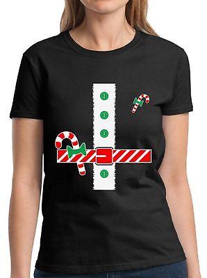 Santa Costume Christmas Shirts for Women Santa Suit T-shirt Women's Holiday Top - Santa Suit For Women