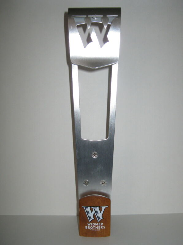 """New Widmer Brothers Brewing Tall Clip Beer Tap Handle 12"""""""