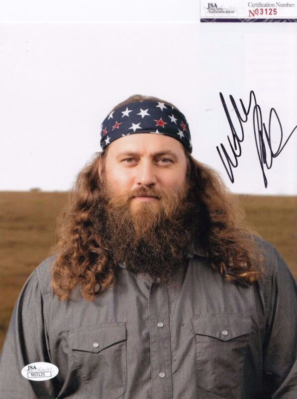 Willie Robertson autographed Duck Dynasty 8x10 Photo JSA Authentic Coa N03125