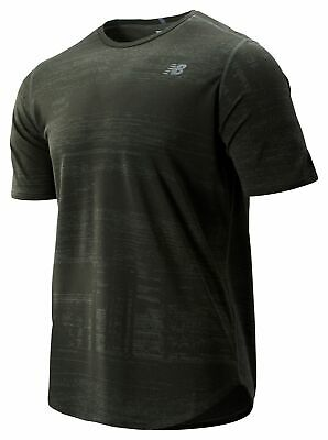 New Balance Men's Q Speed Breathe Short Sleeve Green