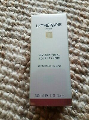 3 x La Therapie Revitalsing Eye Mask 30ml Brand New Boxed  for sale  Shipping to United States