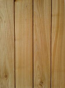 Timber/Wood Fine Sawn British Western Red Cedar Cladding CHANNEL