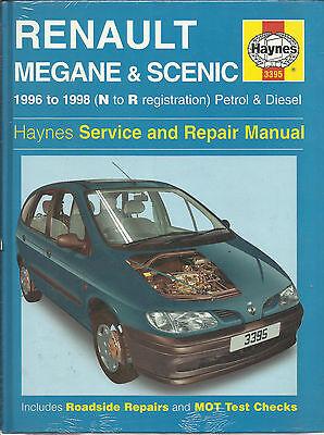 Haynes New  Sealed Renault Megane & Scenic Petrol Diesel Service & Repair Manual