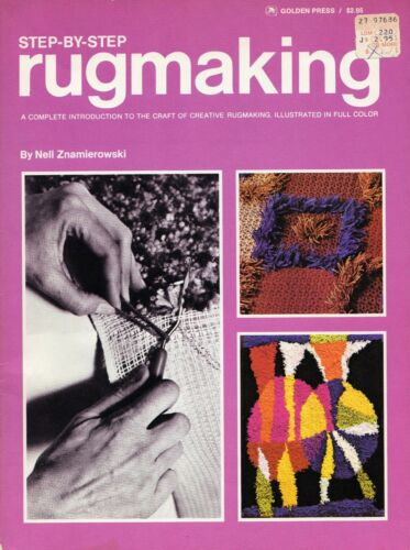 Step By Sep Rugmaking Instructions Projects