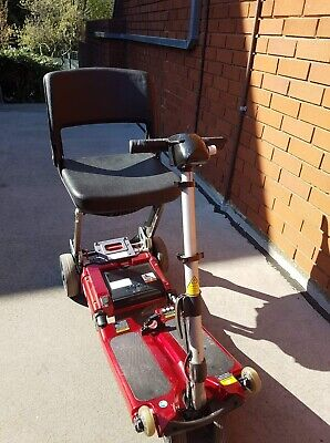 Luggie Mobility scooter, red, Luggie Standard folding