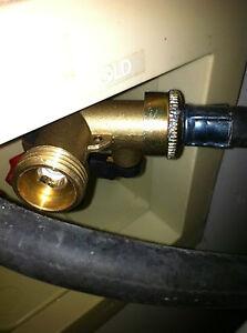 rv water connector brass y valve wye spliter hose faucet camper travel trailer ebay. Black Bedroom Furniture Sets. Home Design Ideas