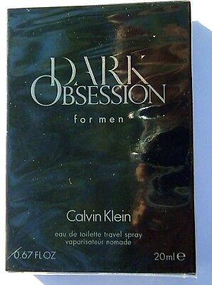 CALVIN KLEIN DARK OBSESSION BEST BUYZ SALE .67 0Z EDT SPRAY + 2.6 0Z