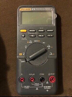 Fluke 87 True Rms Multimeter Used In Great Condition