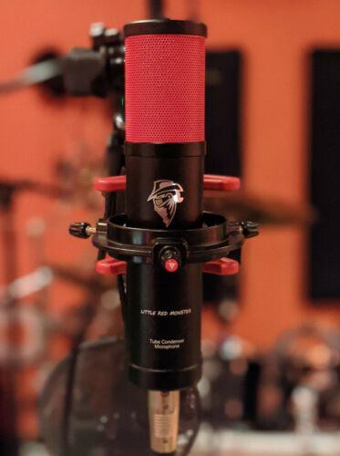 TUBE CONDENSER MICROPHONE U67, U47 Blue, Telefunken quality - LITTLE RED MONSTER