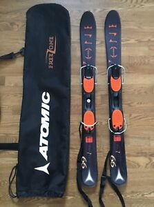 Atomic Free Zone 99 mini skis snowblades trick skis