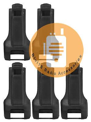5x Hkln4510a Rm Series Carry Holster For Motorola Rmm2050 Rmu2040 Rmu2080d Radio