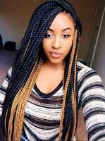 Neat braids and weaving for all hair textures