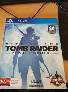 RISE OF TOMB RAIDER FOR PS4