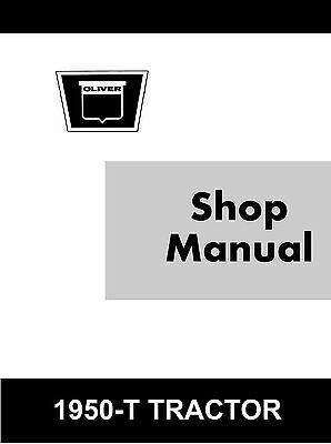 Oliver White Minneapolis Moline 1950-t 1950t Tractor Shop Service Manual