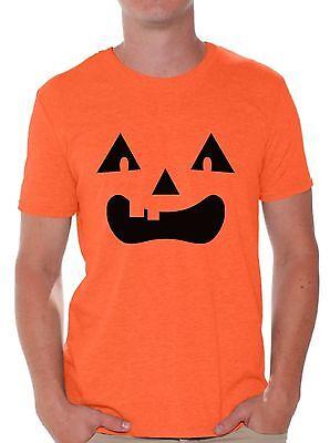 Cute Halloween T Shirts (Men's Halloween Pumpkin T shirts Shirts Tops  Lantern Pumpkin)