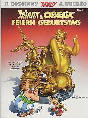 Asterix und Obelix feiern Geburtstag - NEU!  Band 34