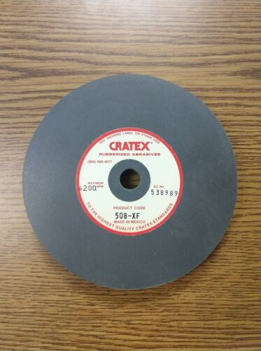 """Cratex 5"""" Disc. 508XF. Extra Fine Surface Straight Grinding Wheel"""